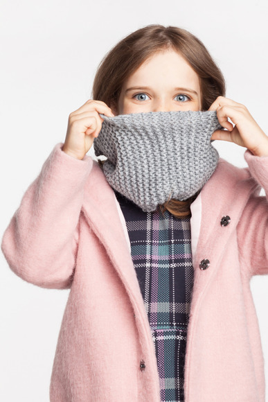 Kids' tube scarf