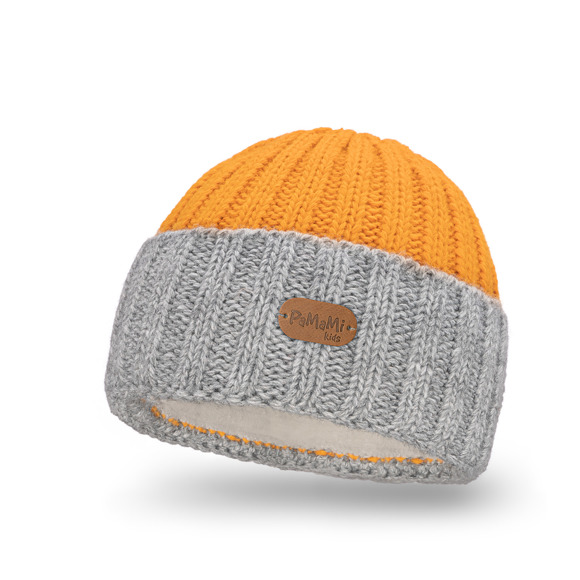 Kid's winter hat- double coloured