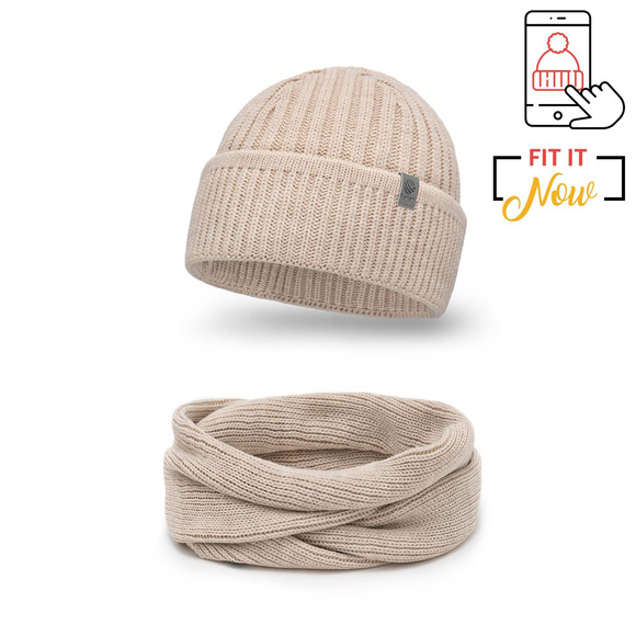 Men's Winter set in beige