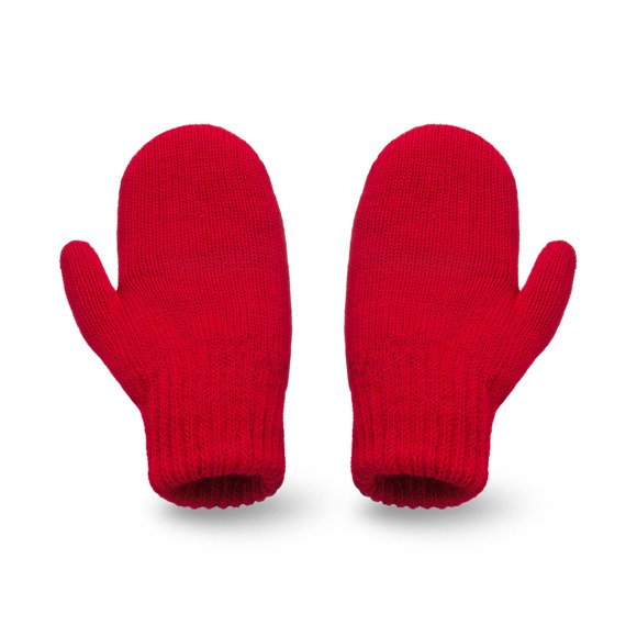 Red womens' gloves
